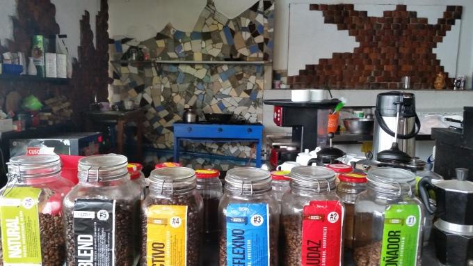 Los distintos tipos de café que ofrecen para el desayuno