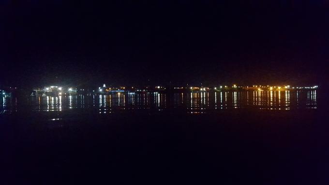 Vista Nocturna de Iquitos